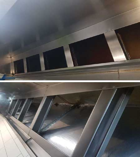 Commercial-Kitchen Exhaust Cleaning